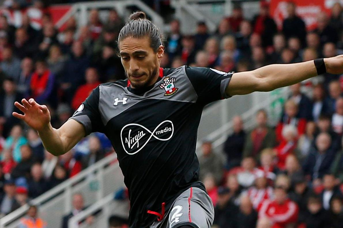 Celtic and Leicester in talks to sign Southampton's unsettled defender Martin Caceres