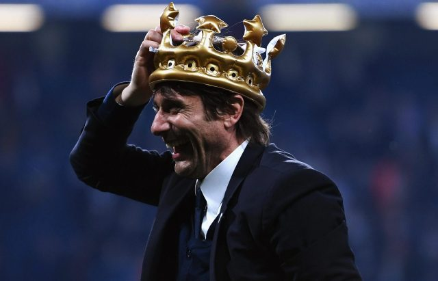 Antonio Conte has been praised this season for restoring unity and happiness at the club