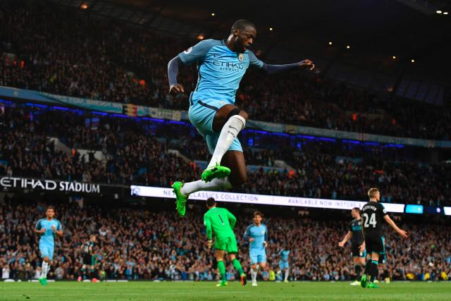Yaya Toure put the game to bed with Manchester City's third