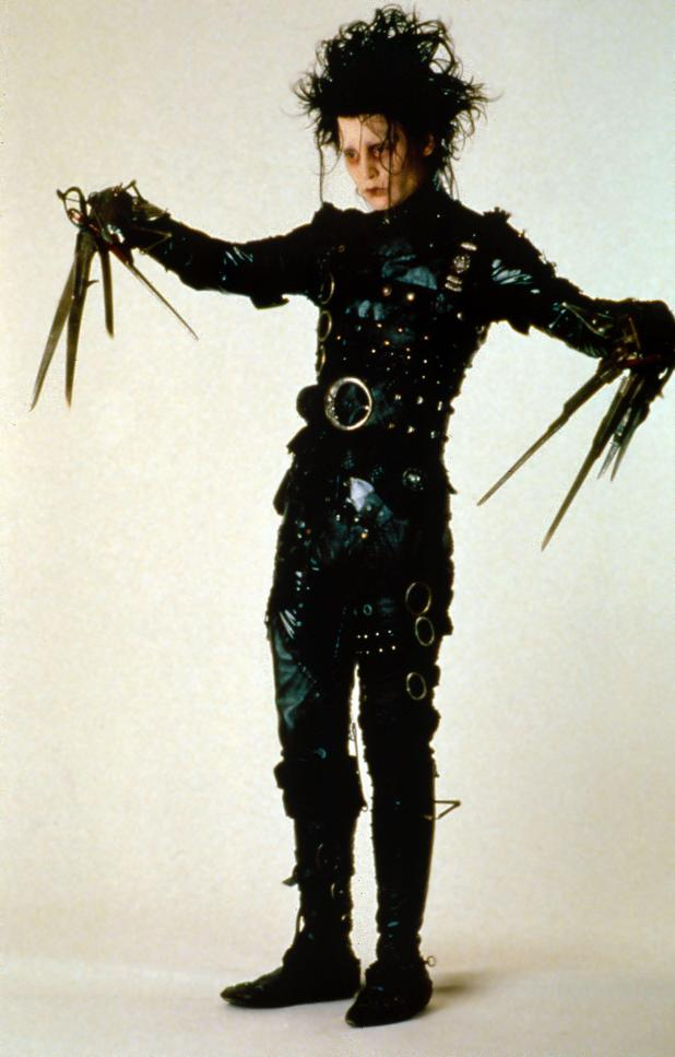 Johnny shot to worldwide fame playing Edward Scissorhands