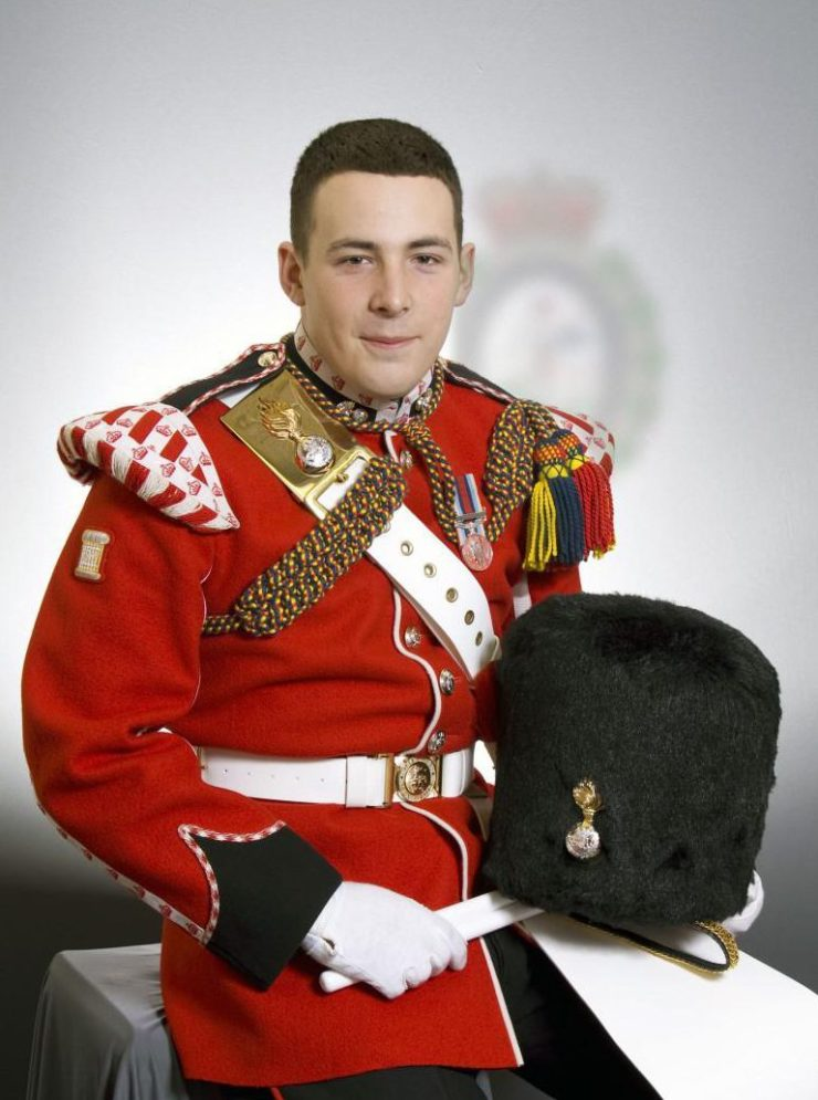 Fusilier Lee Rigby was killed four years ago in horrific circumstances