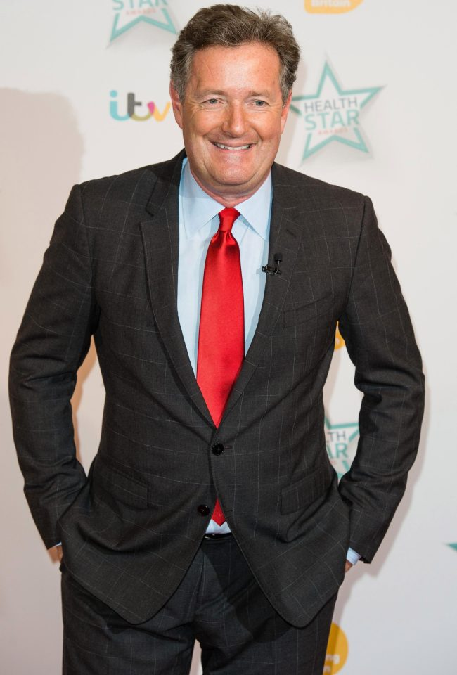 Piers Morgan is a British journalist and TV star
