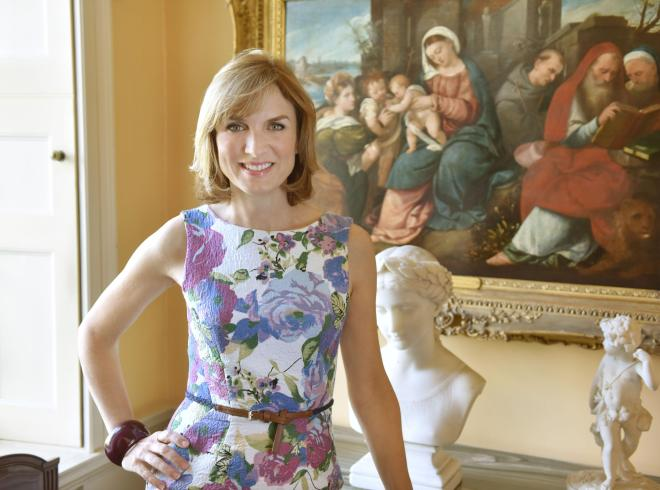 Fiona Bruce is one of the BBC's flagship broadcasters