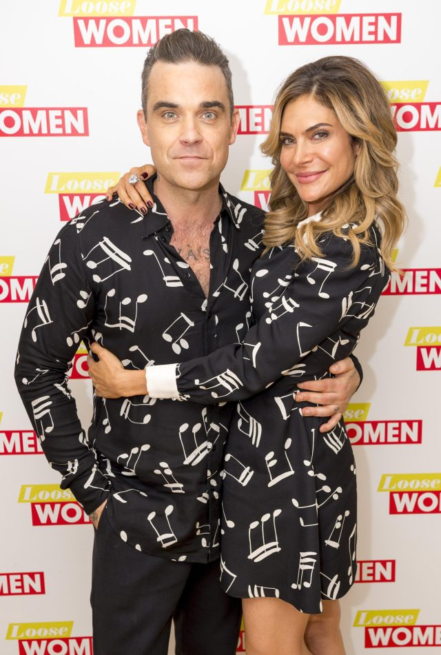 Robbie and Ayda Field have been married since 2010