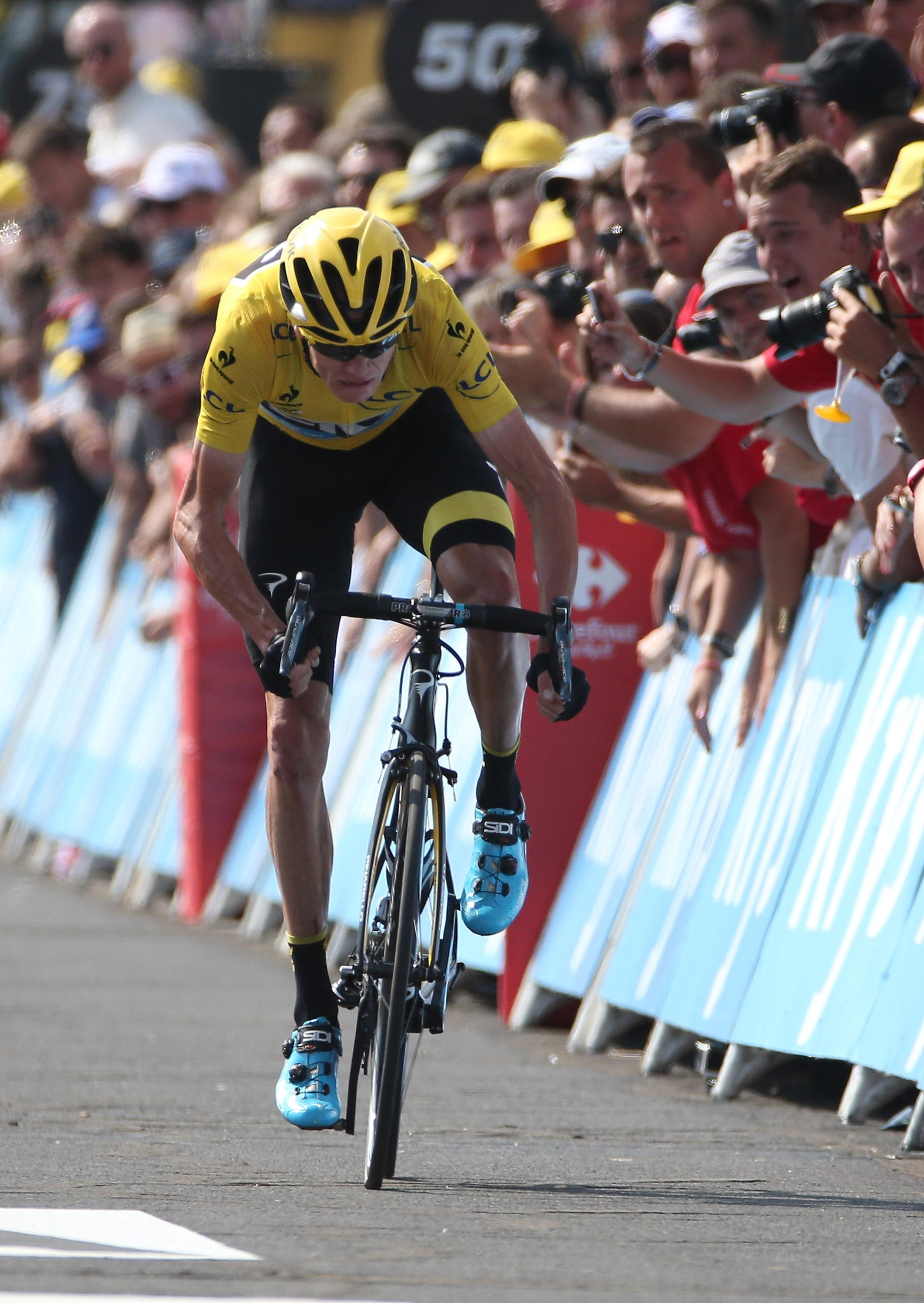 Chris Froome won the Yellow Jersey at last year's Tour de France