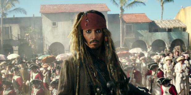 Johnny is now best known for playing Captain Jack Sparrow in the Pirates of the Caribbean movies