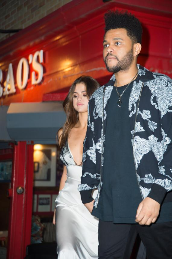 Selena Gomez and The Weeknd enjoyed a date night in New York on Monday night