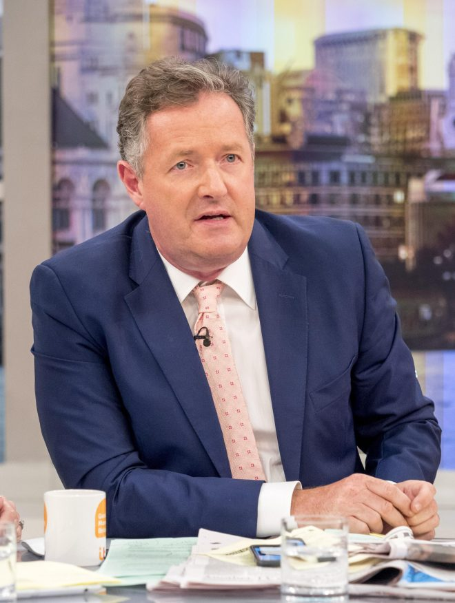 He is known for his strong opinions as the host of Good Morning Britain