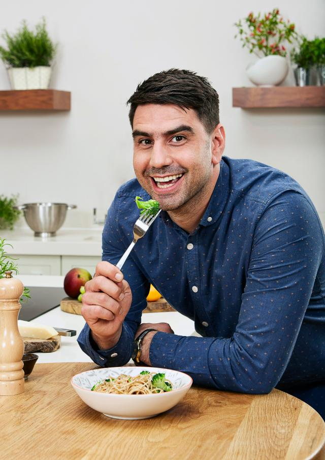 Chris Bavin has worked as a greengrocer for 18 years