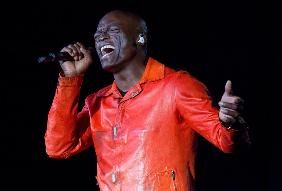 Seal has sold more than 20 million records worldwide