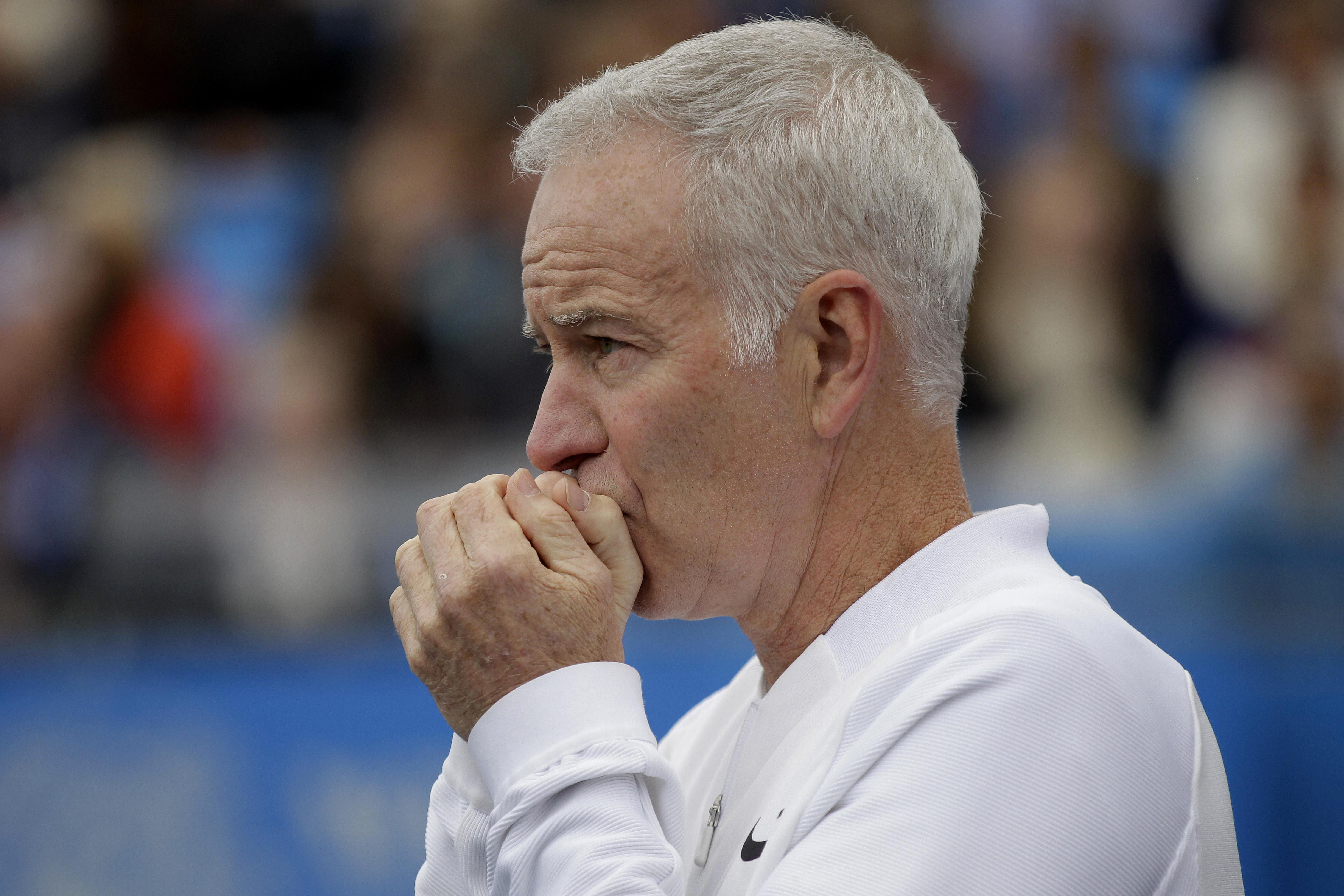 One of Wimbledon's most controversial and loved characters, John McEnroe