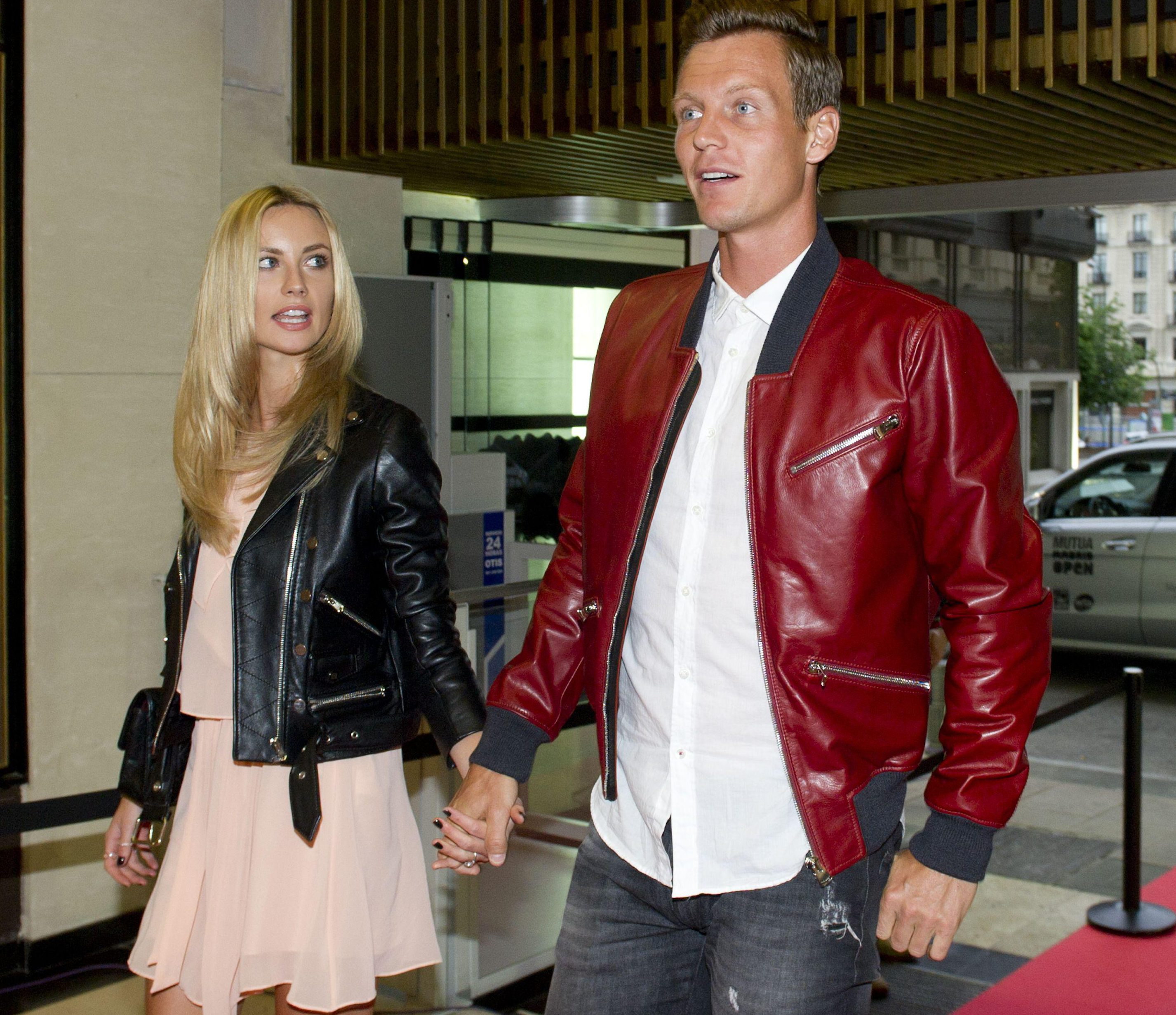 Ester and Tomas began dating in 2011 and married in an intimate ceremony in Monaco in 2015