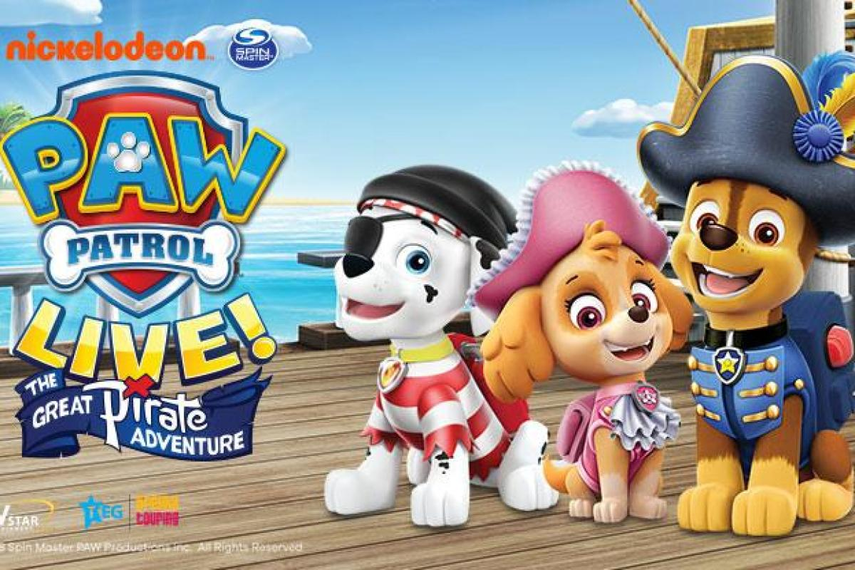PAW Patrol Live! tickets on sale NOW! The Great Pirate