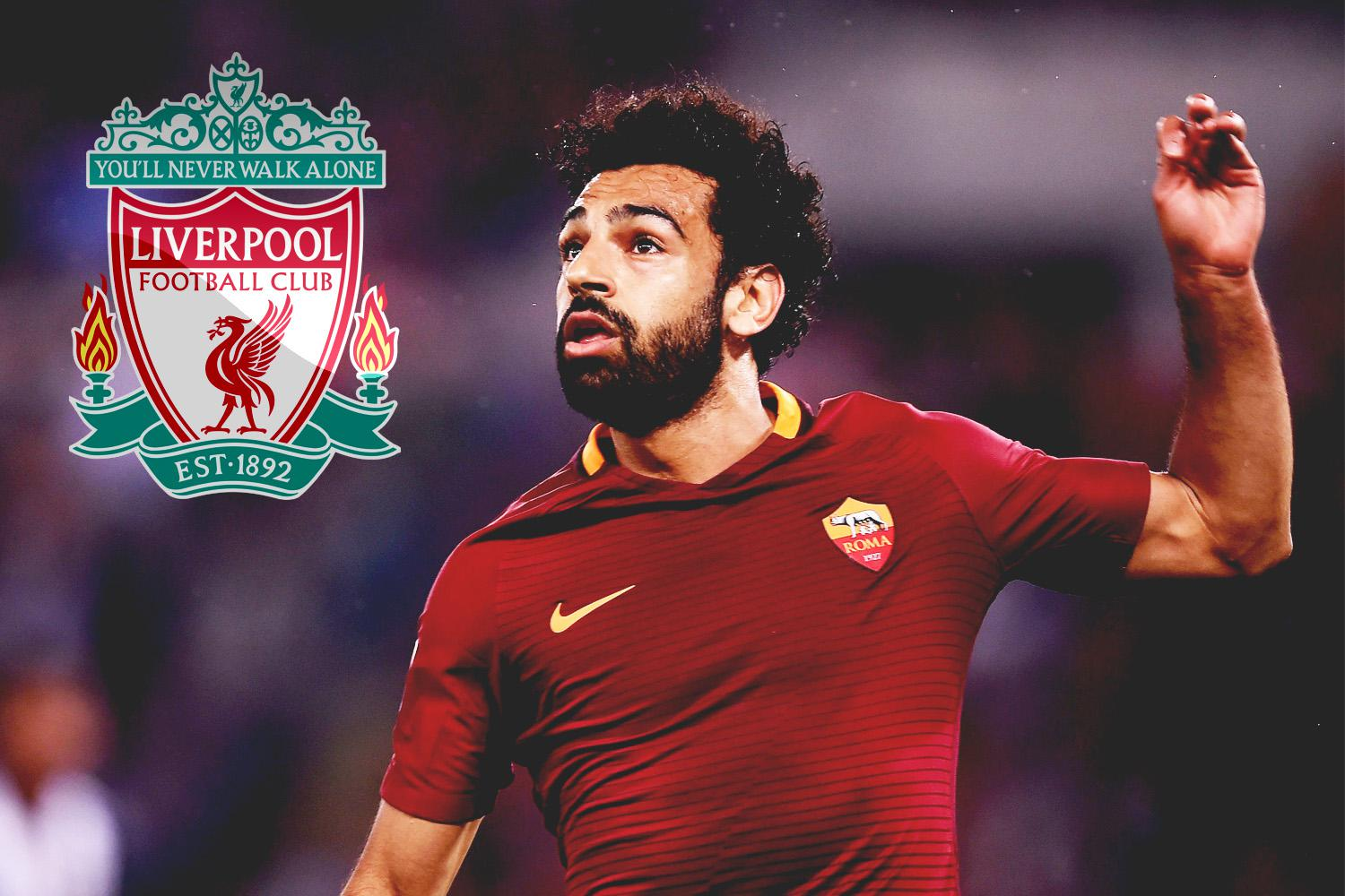 Roma winger Mohamed Salah closing in on stunning £35m switch to