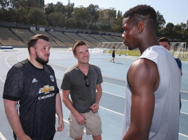 Paul Pogba has admitted he doesn't watch Game of Thrones - the show's stars do watch him though