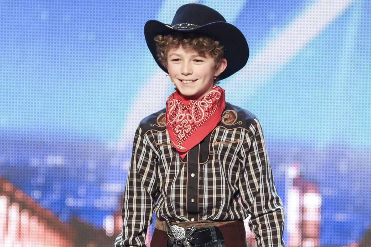 Remember the 11-year-old knife-thrower from Britain's Got Talent ...
