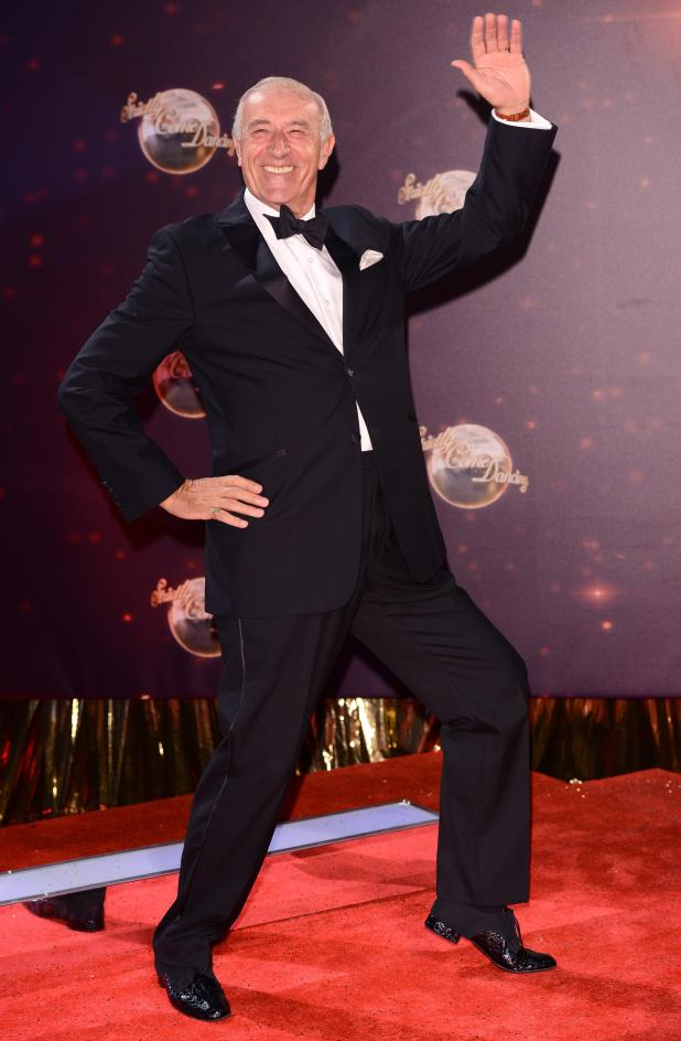 Len made his final appearance on the Strictly Christmas Day special in 2016
