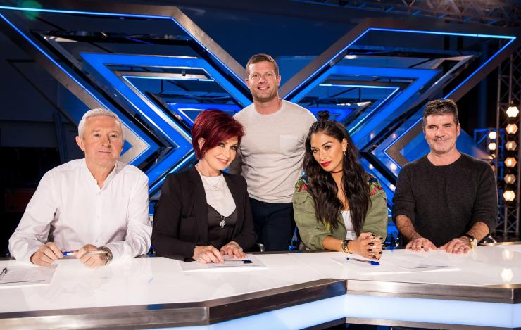 Sharon returns to screens on the new series of The X Factor later this year