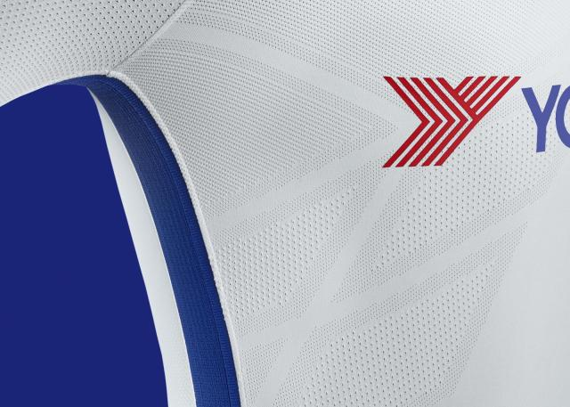 Chelsea swapped from their previous black away kit to a new, slick white design