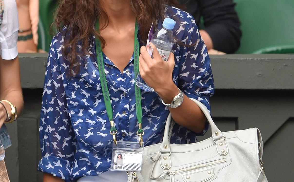 Xisca Perello seen supporting boyfriend Rafael Nadal