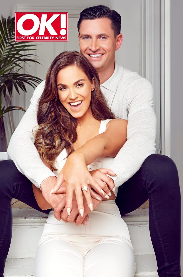 Vicky Pattison announced she was engaged to John Noble in July