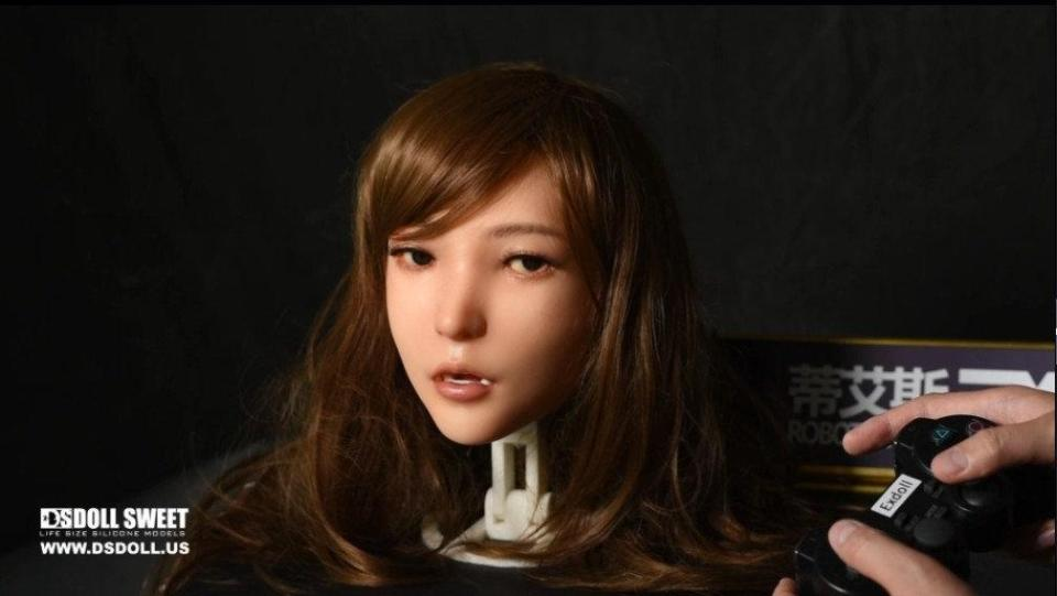 Named the DS Doll Robotic Head, the new model is controlled using a smartphone and a Playstation controller