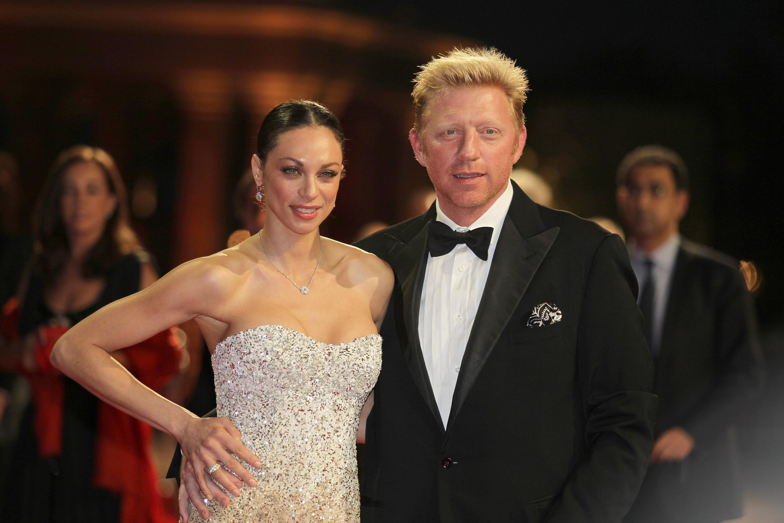 Former German tennis star Boris Becker and his wife Lilly have separated