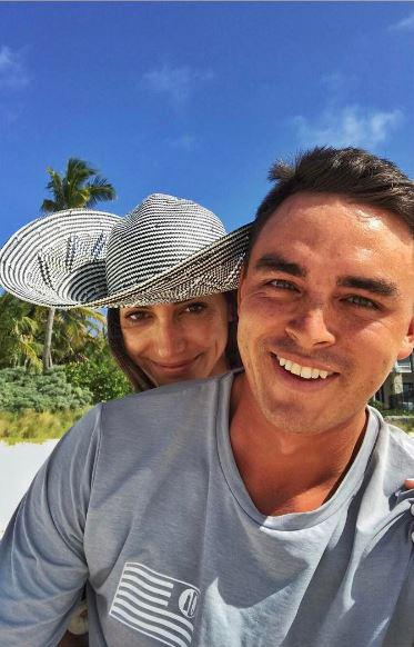 """Rickie captioned this Instagram post with """"When you wish you could still be on vacation! #RickFoundaChick"""""""