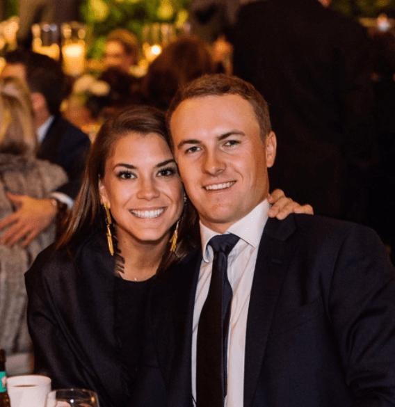 Happy couple: Jordan and Annie