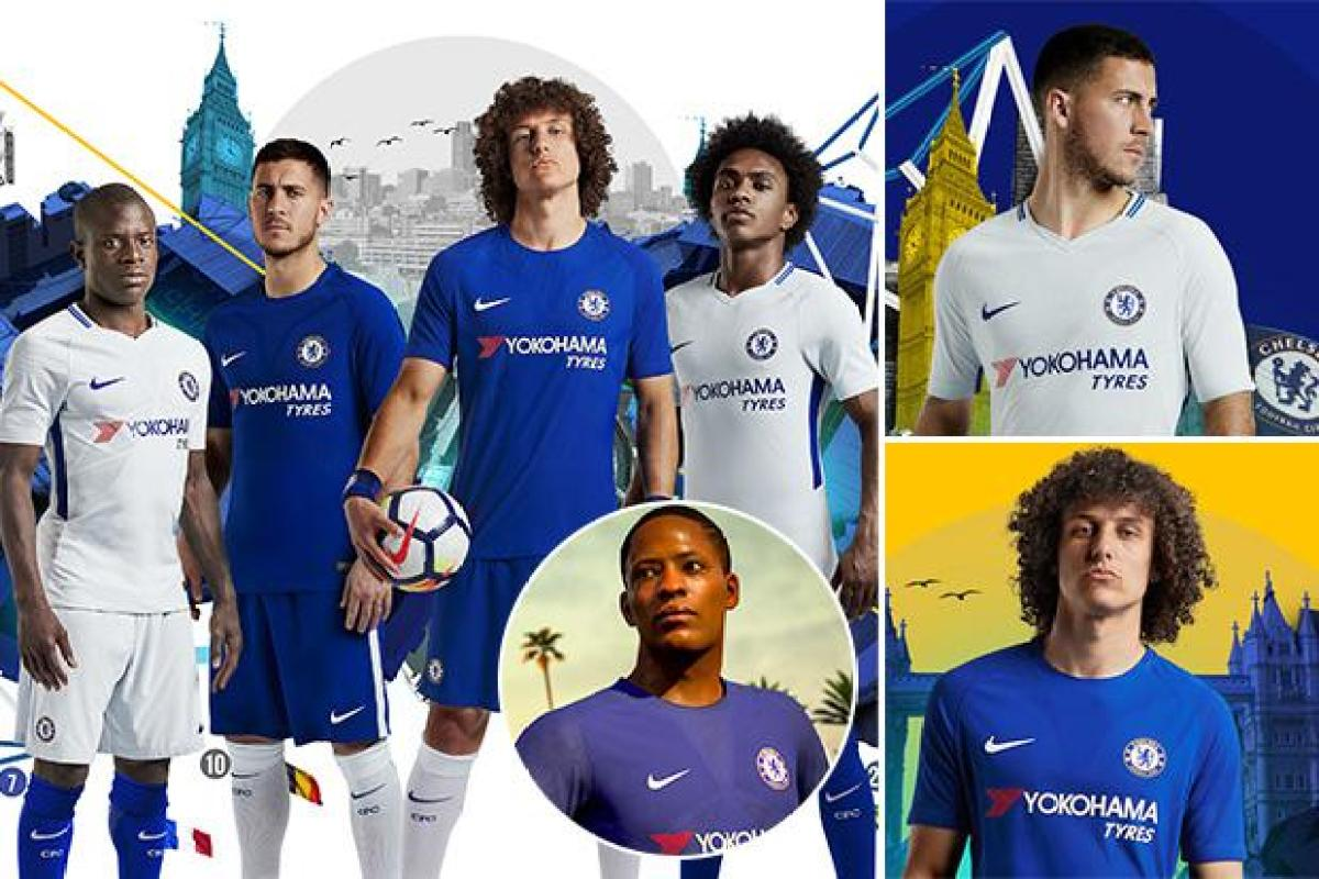 Chelsea Unveil New 2017 18 Nike Home And Away Kit Using FIFA Star Alex Hunter