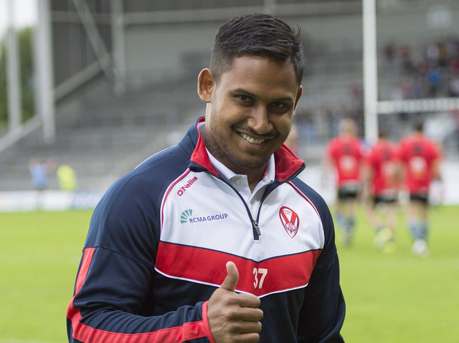St Helens star Ben Barba has been cleared of serious injury after being stretchered off at Salford