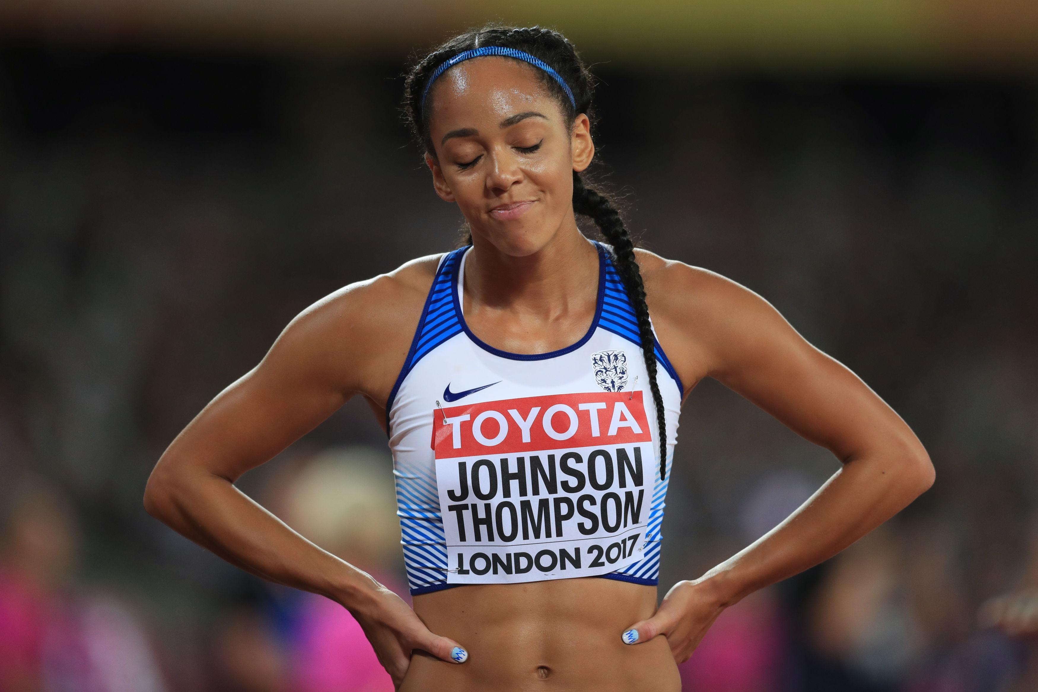 Katarina Johnson-Thompson was left to rue her flop in the high jump after missing out on a medal