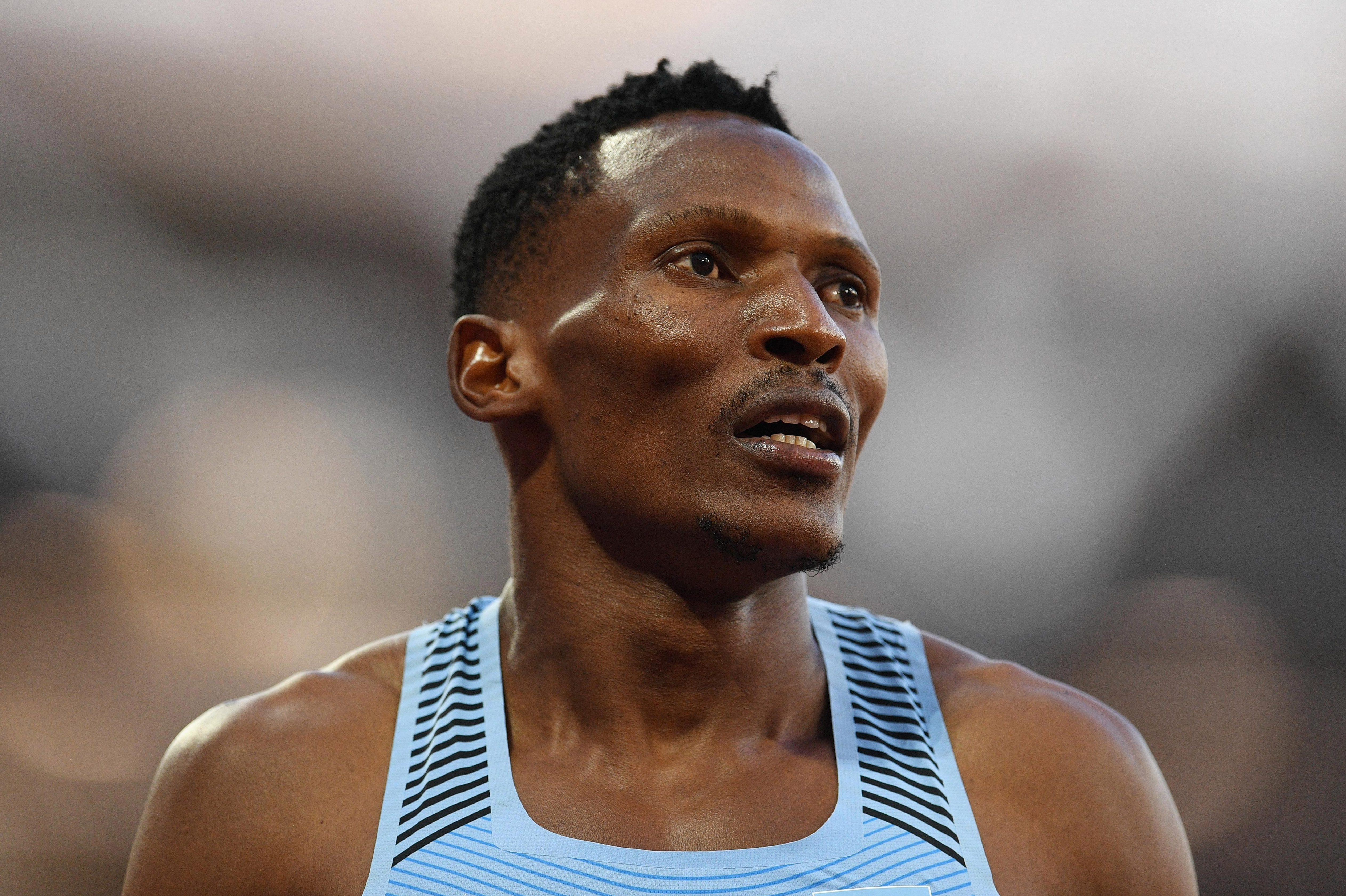 Isaac Makwala has been refused entry into London Stadium by IAAF officials