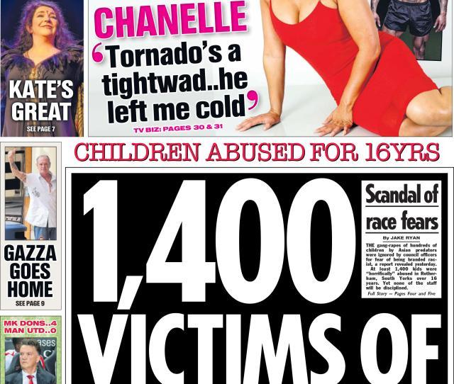 Child Sex Exploitation Scandal In 2014