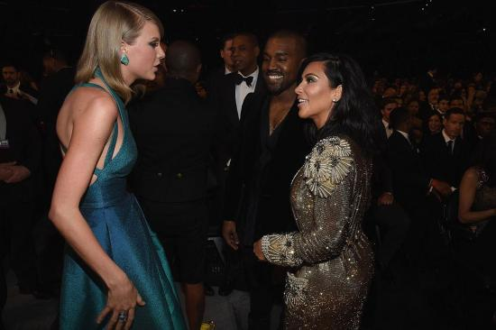 In 2015 it looked like Taylor, Kim and Kanye had buried the hatchet... but not anymore