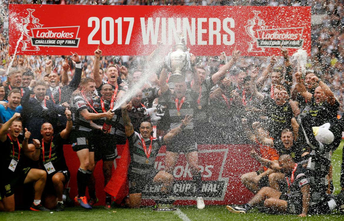 Radford led Hull FC to back-to-back Challenge Cup wins at Wembley