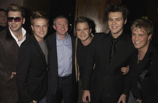 Louis famously managed Westlife