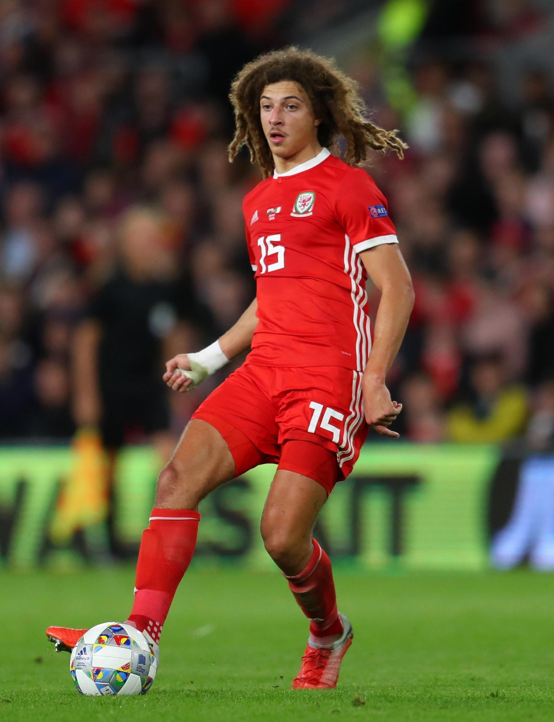 Ethan Ampadu may be down the pecking order for Chelsea, but is already becoming a regular starter for Wales