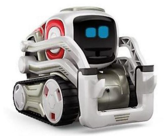 For now, most robots are completely harmless, like the cute Anki Cozmo