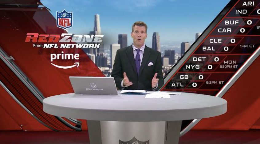 NFL Red Zone on Sunday evenings shows every touchdown from every game