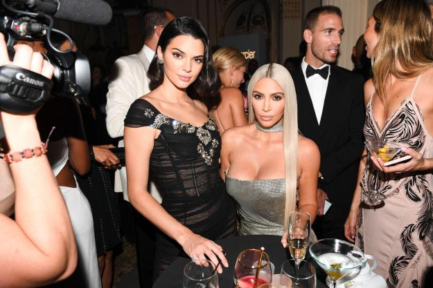 The 21-year-old, here with her sister Kim, is the toast of NYFW again