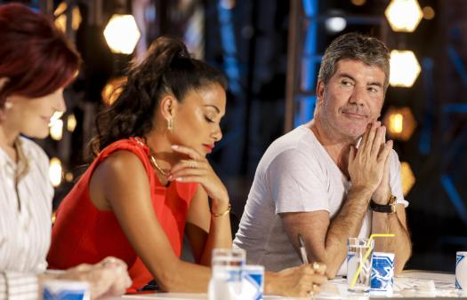 Simon took the swipe at Posh Spice in tonight's episode of the X Factor
