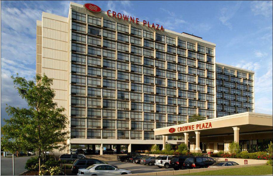 The young girl was attending a party at the Crowne Plaza hotel in Rosemont, a suburb in northwest Chicago