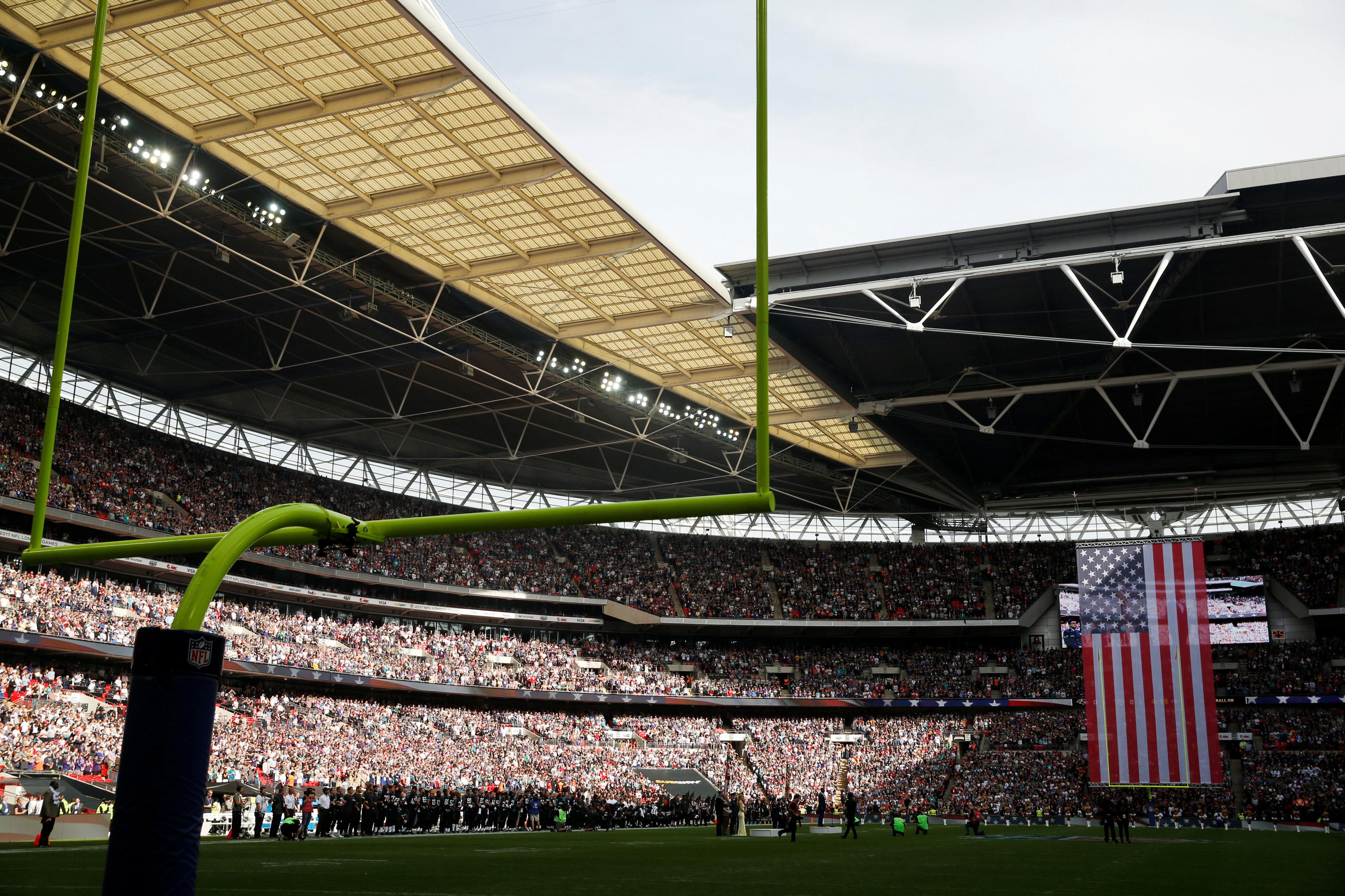 Wembley looked spectacular in the September sunshine as the latest round of NFL games arrived in London