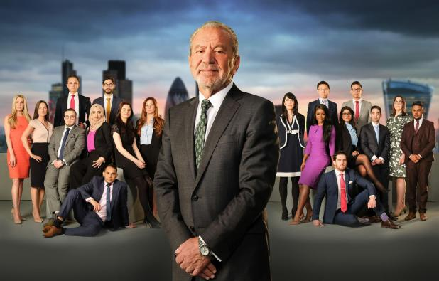 The star is back on The Apprentice for a new series