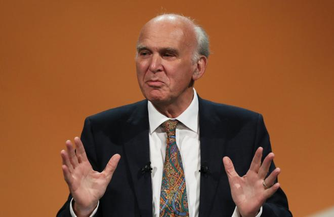 Vince Cable became leader of the Liberal Democrats in July 2017