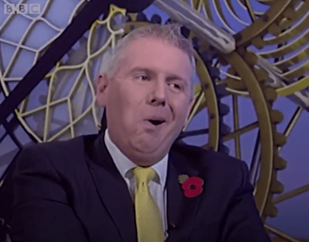 Tory MP Stuart Andrew was no impressed and branded Sheerman's remarks as 'snobbery'