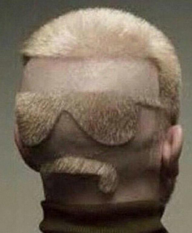 Ever suspected someone has eyes in the back of their head? This guy actually does