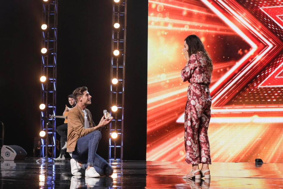 Sam famously proposed to his girlfriend Emma on stage at Boot Camp