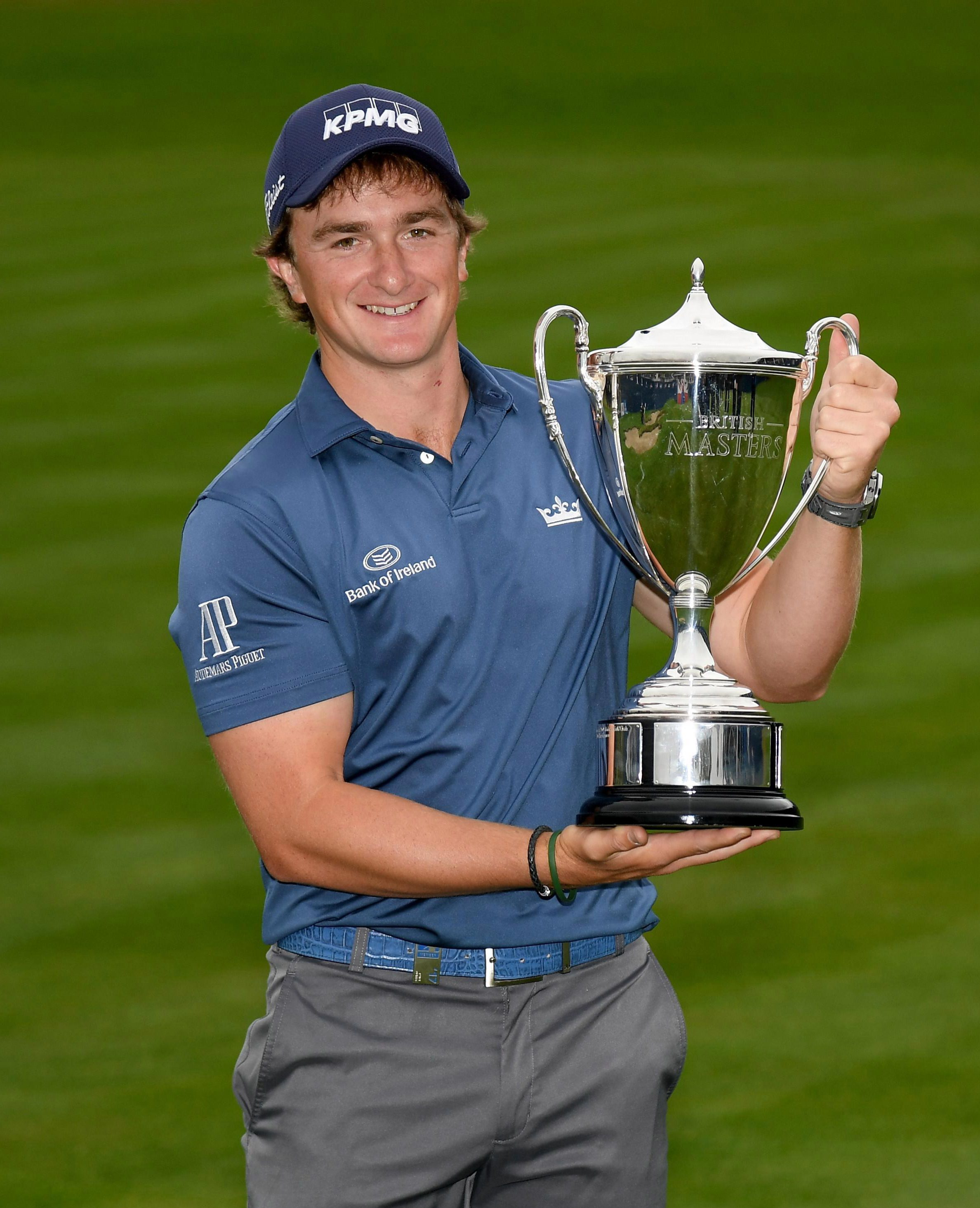 Paul Dunne shot the lowest round of the week with a nine- under-par 61